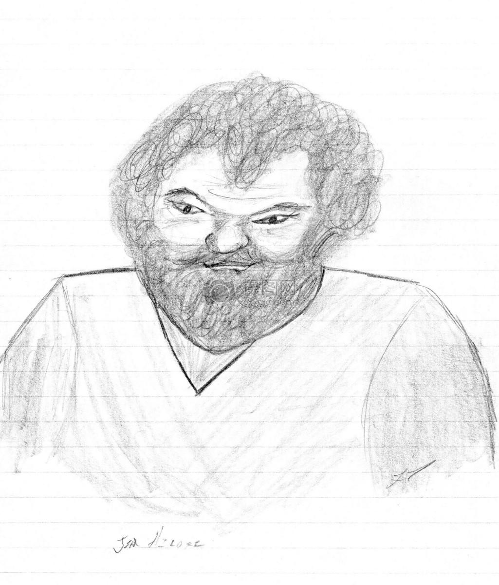 铅笔手绘速写人物肖像