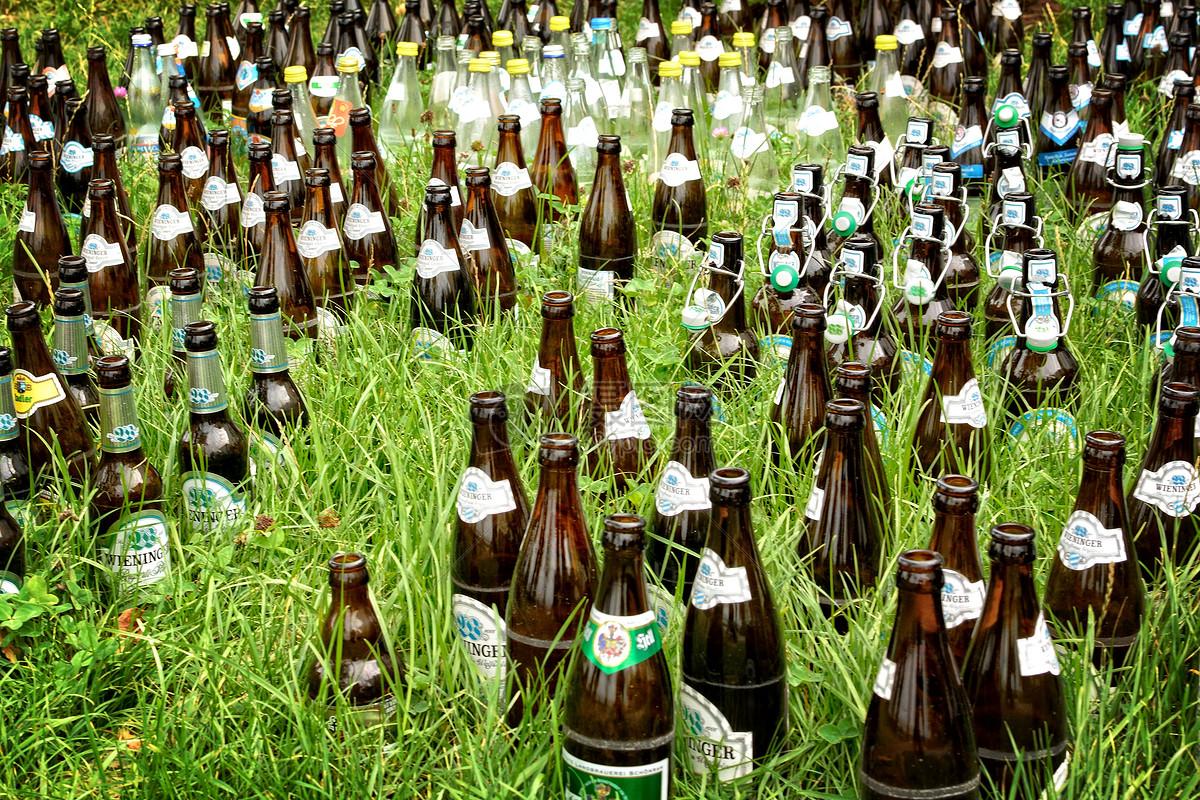 啤酒瓶粘土手工制作大全图片