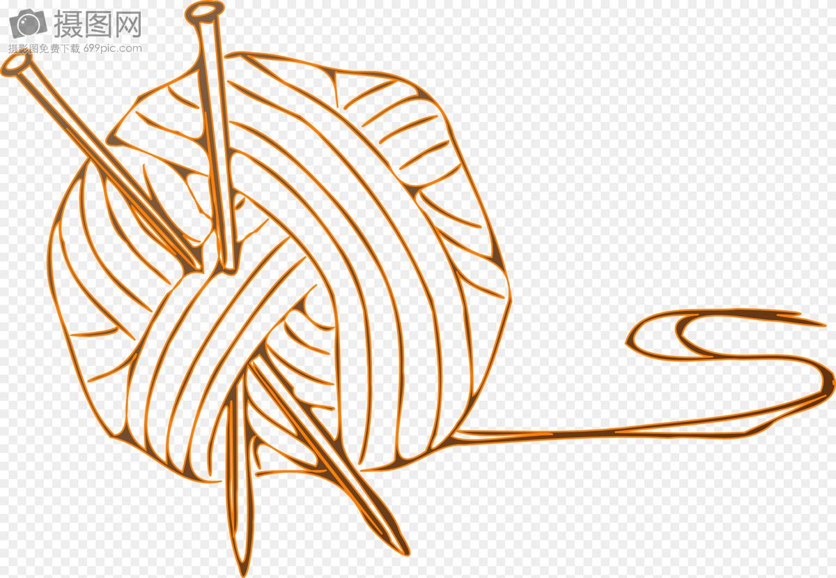针线四叶草图案教程