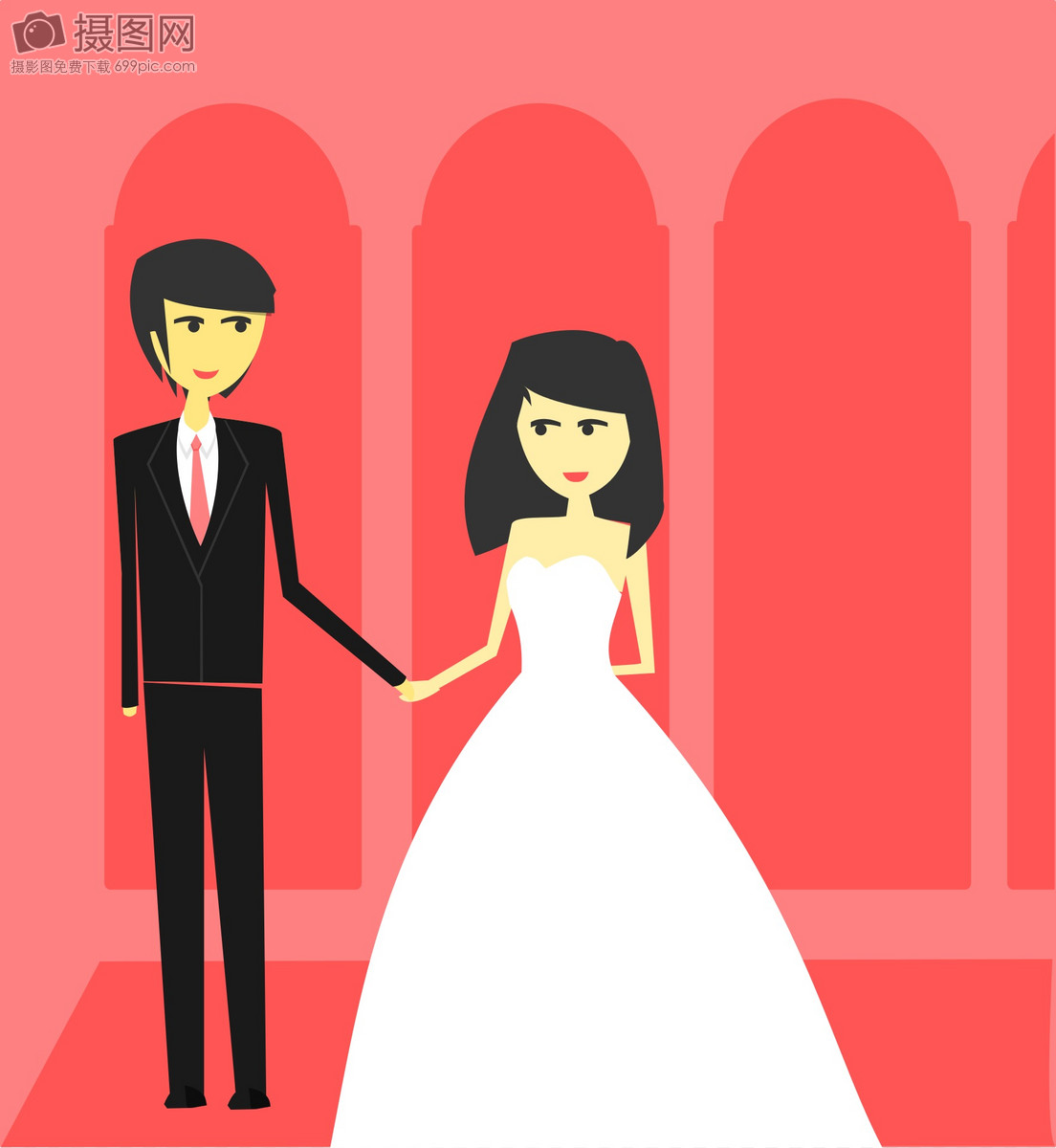 浪漫的夫妇图片素材_免费下载_svg图片格式_高清图片