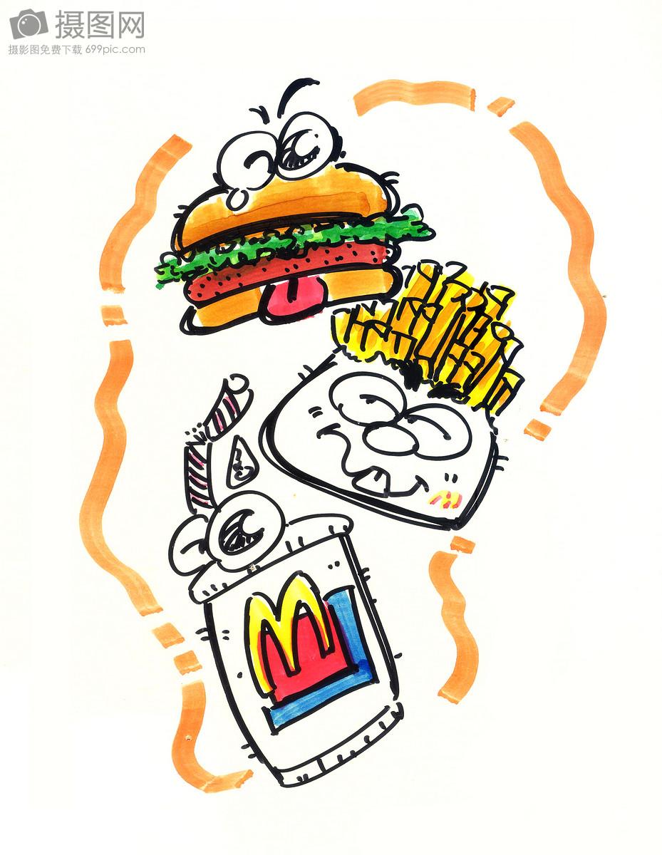 q版食物手绘图片大全