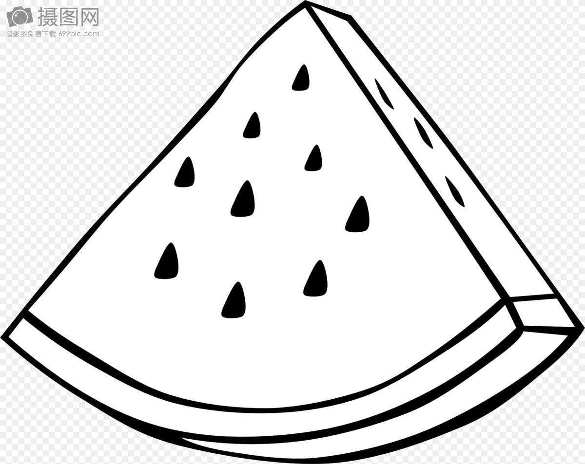 切成片的西瓜图片