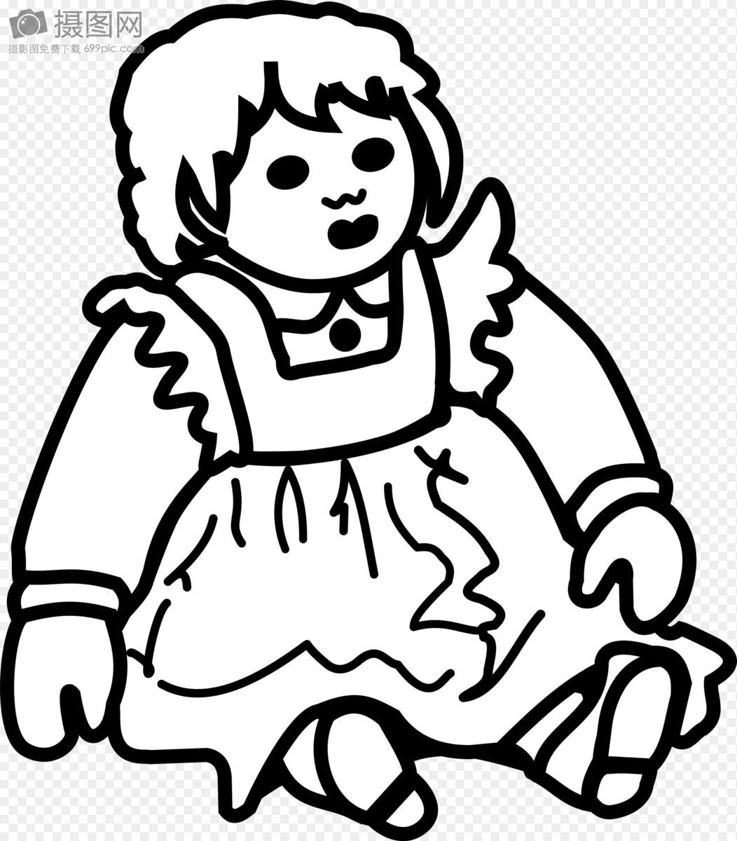 可爱的布娃娃