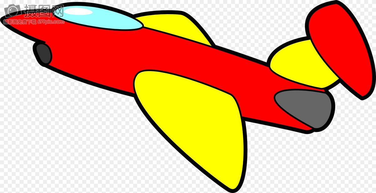 飞机, 红色