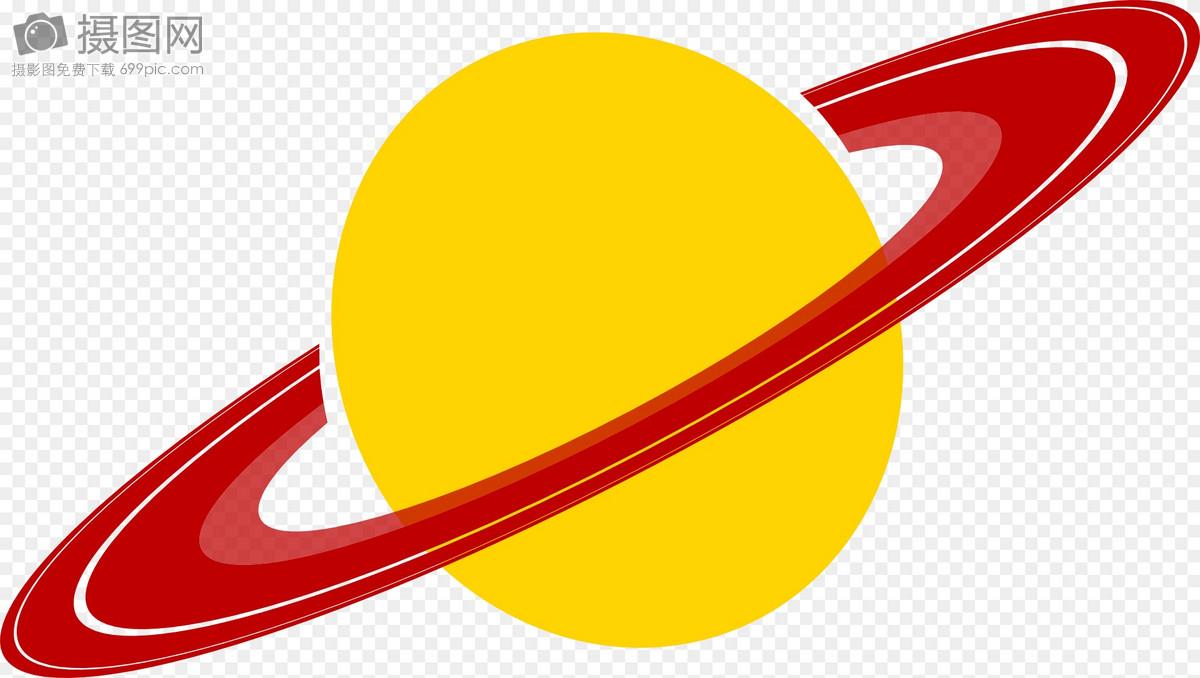土星纹身小清新图案