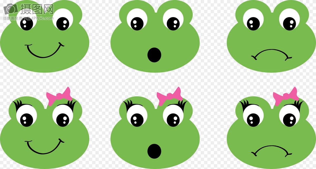 可爱的青蛙表情