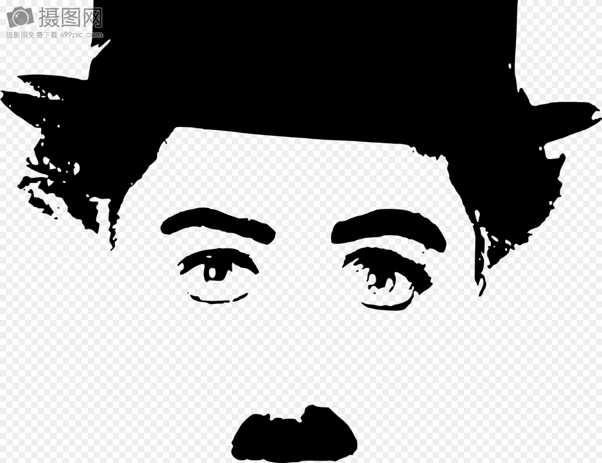 查理·卓别林肖像