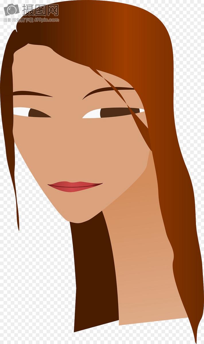 长发女子图片素材_免费下载_svg图片格式_高清图片_摄