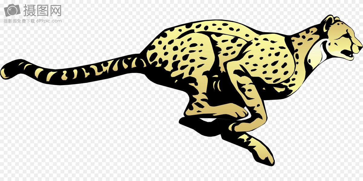 图片 设计模板 元素素材 跳跃的豹子svg  分享: qq好友 微信朋友圈 qq