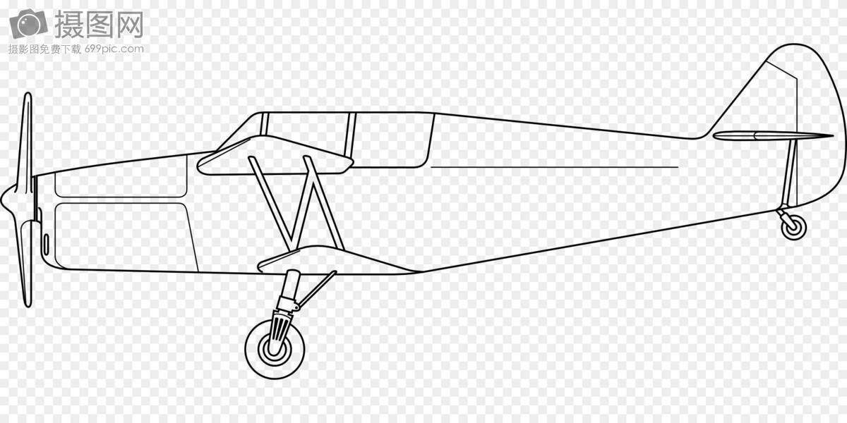 复翼飞机图纸