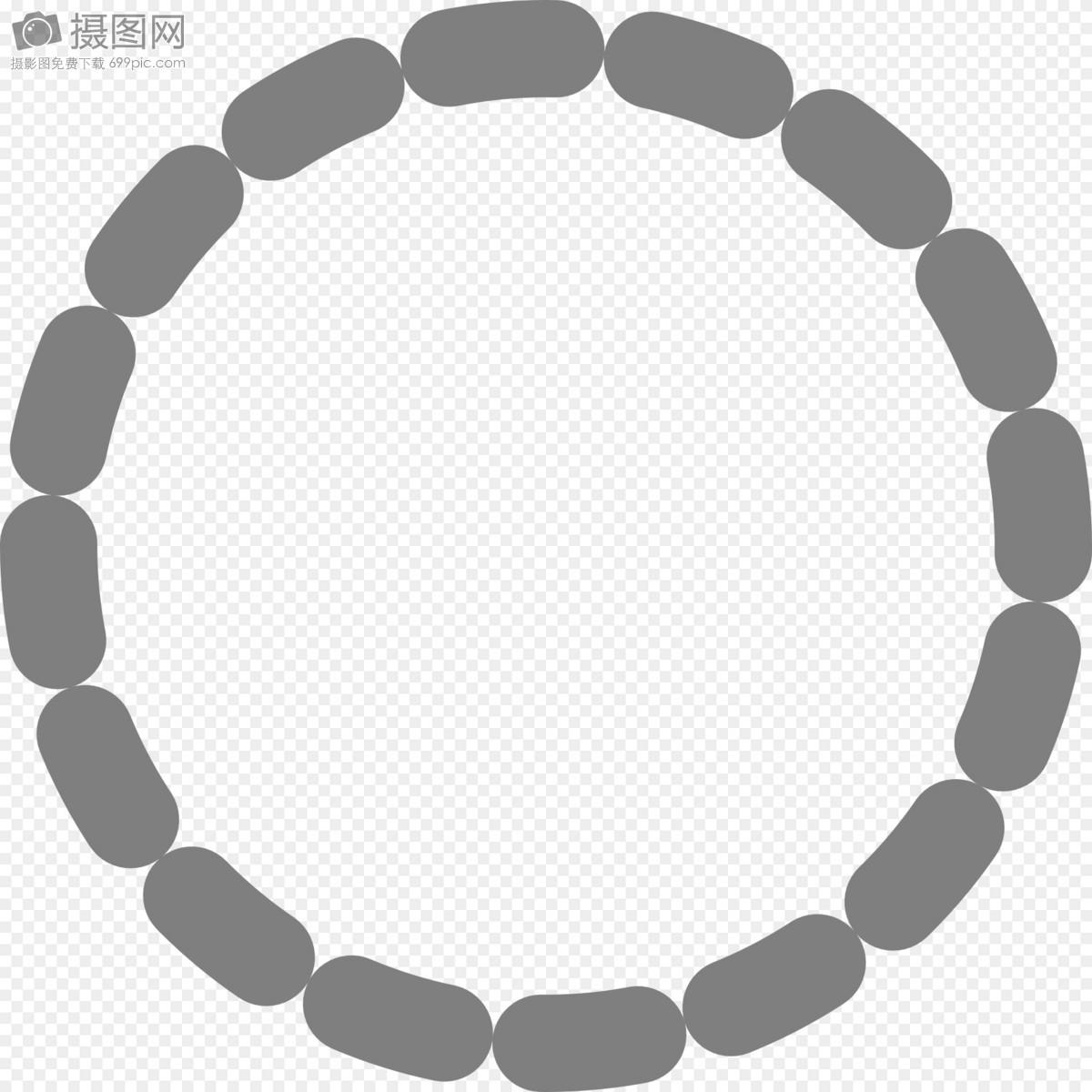 灰色虚线圆形图片素材_免费下载_svg图片格式_高清_摄
