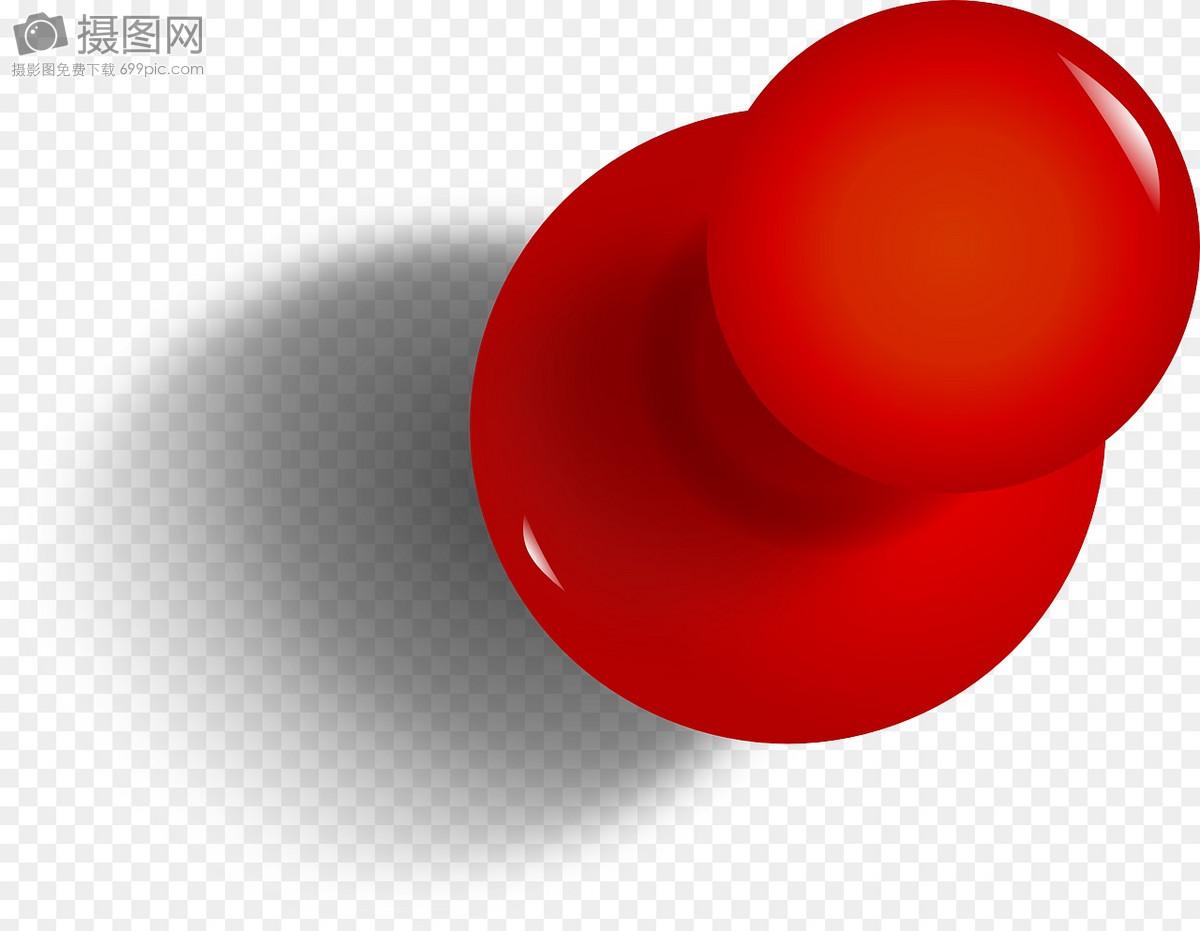 红色大头针摄影图片照片免费下载