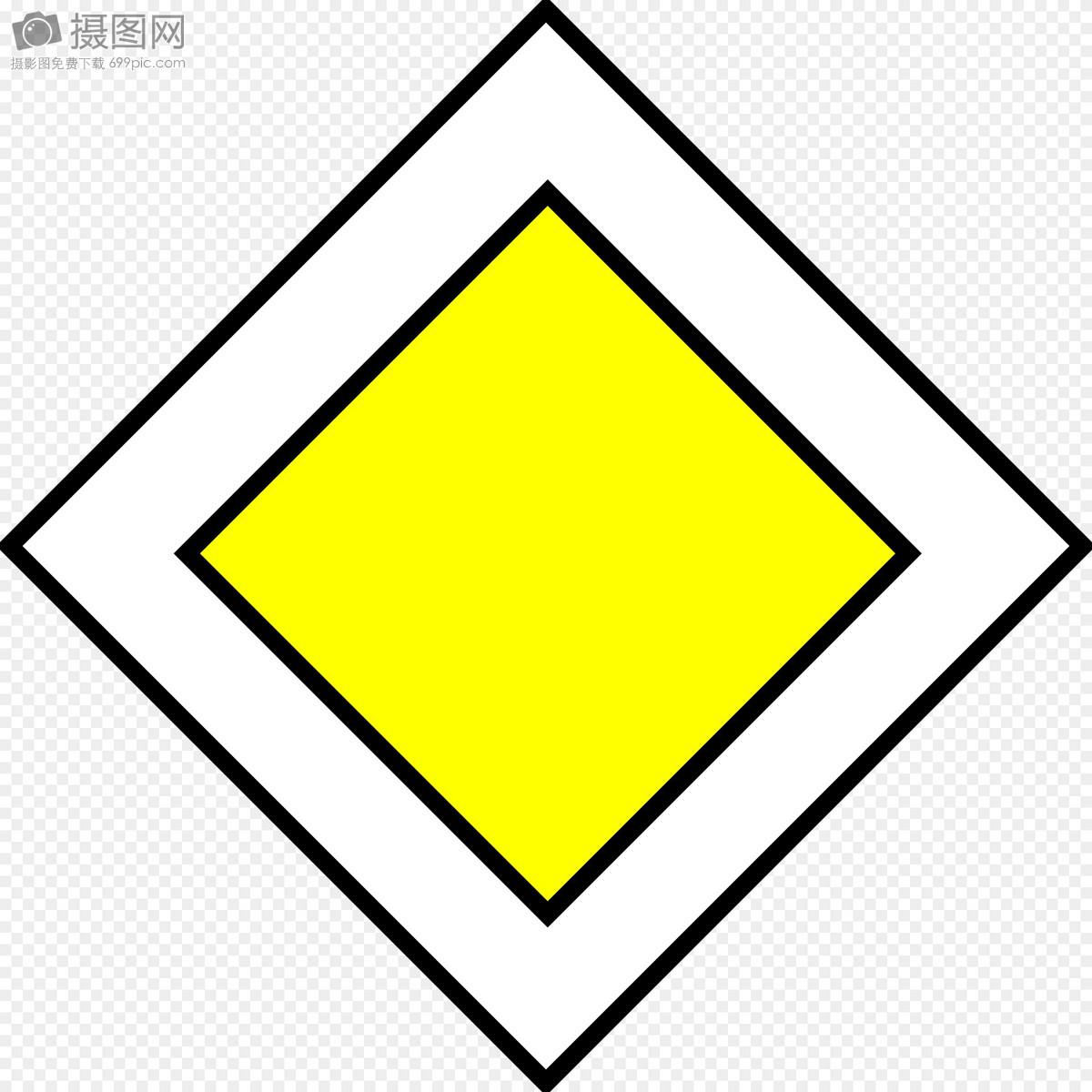 矢量图标志模式路金刚石黄金黄色与白色菱形图案图片黄色与白色菱形
