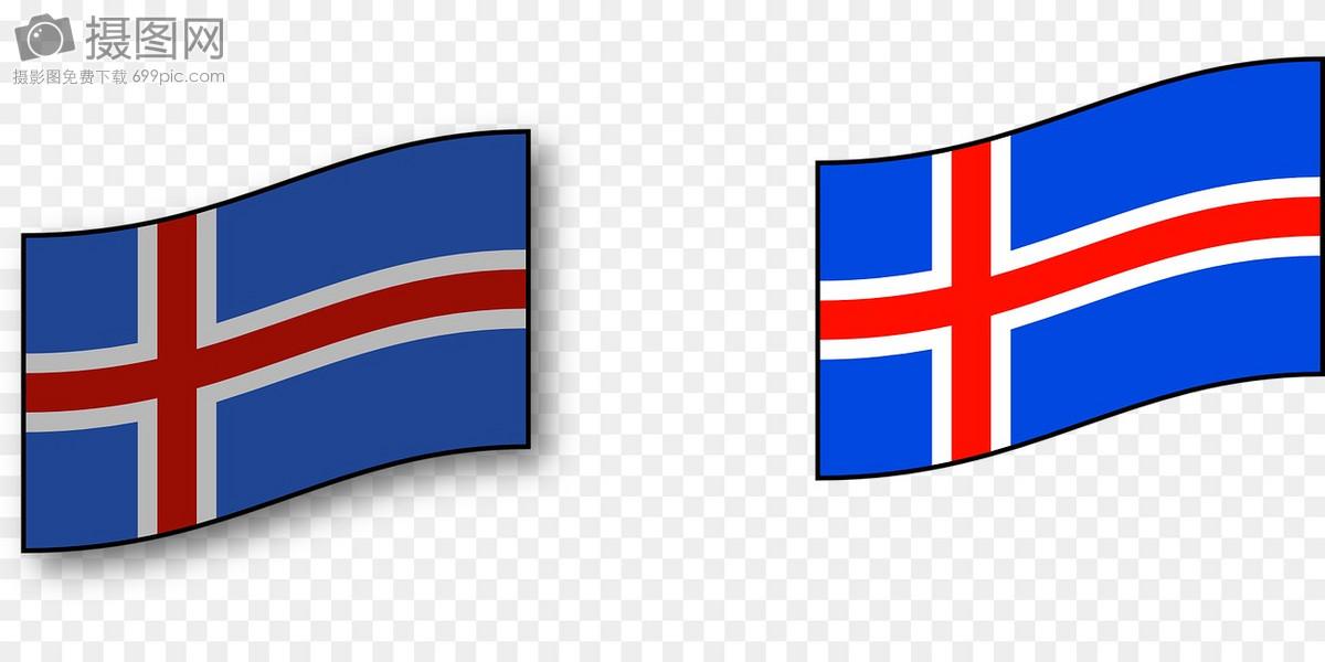 冰岛国旗图片