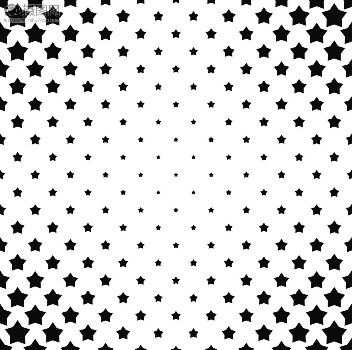 圆点 波点 黑白 矢量 纹理 背景 下载