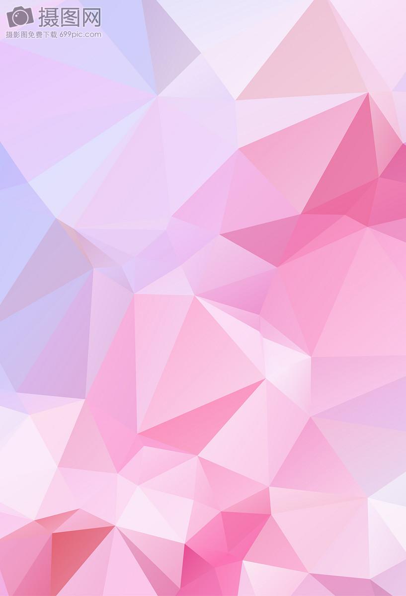 粉色红色黄色几何渐变low poly背景图片素材_免费下载_ai图片格式_vrf