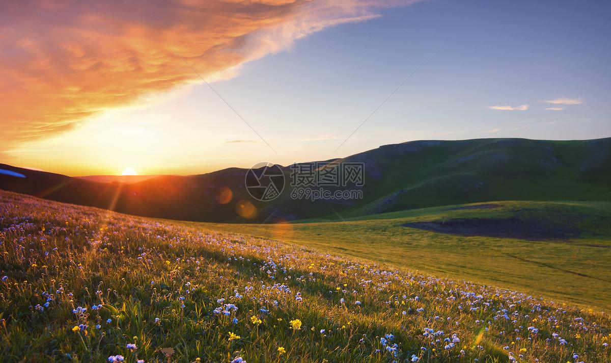 微信头像风景夕阳语言