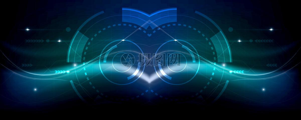 科幻科技绚丽背景图片免费下载科技背景蓝色背景绚丽背景线条现代炫酷