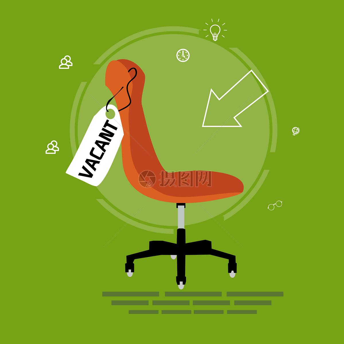椅子的卡通图片
