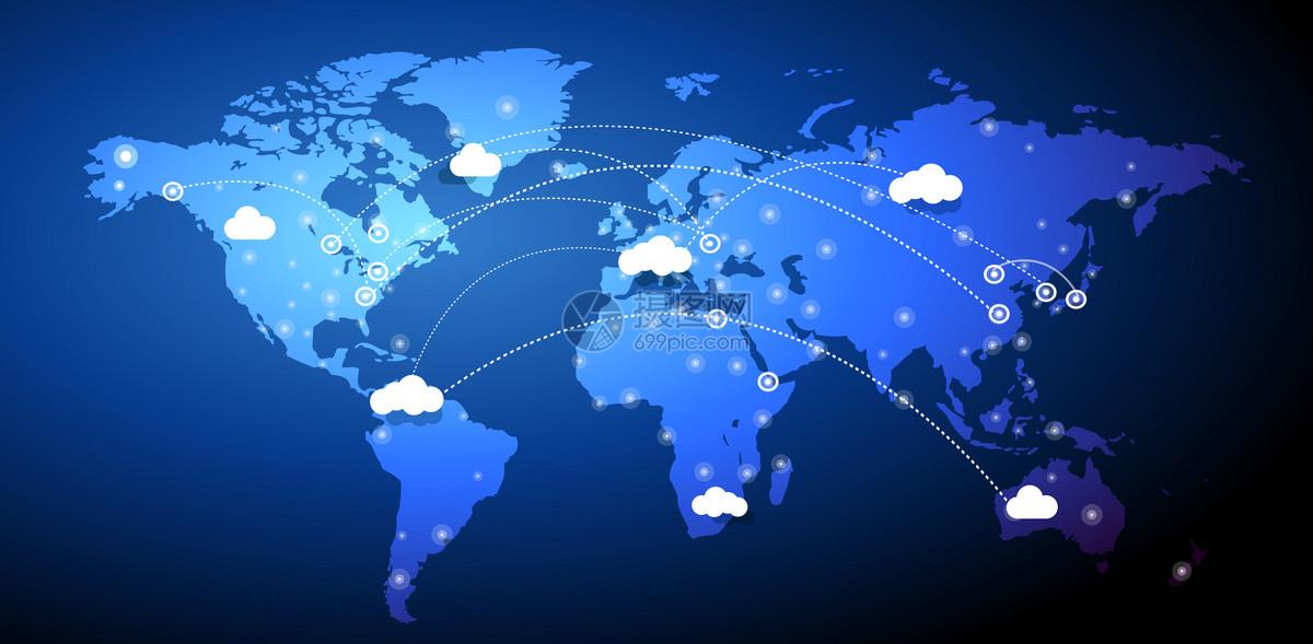 全球化云端信息科技背景图片素材_免费下载_ai图片格式_vrf高清图片