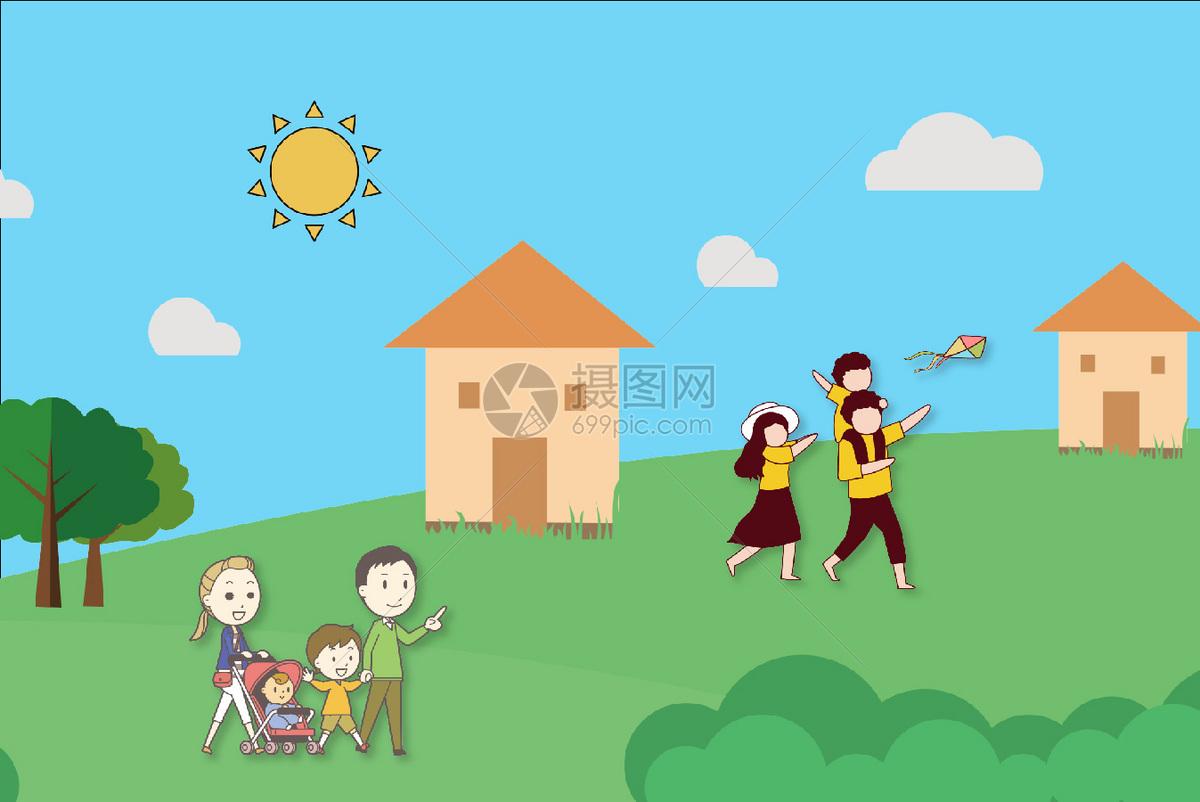 家庭旅游图片素材_免费下载_ai图片格式_vrf高清图片