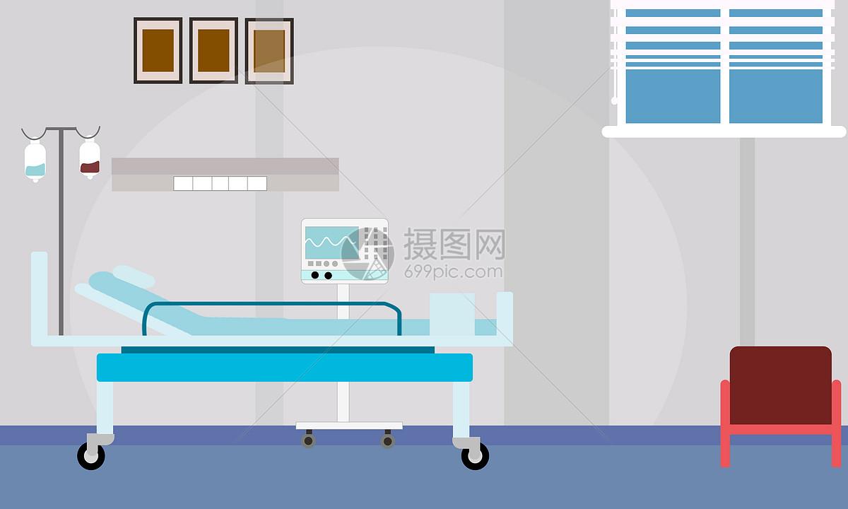 医院病房场景图片素材_免费下载_psd图片格式_vrf高清