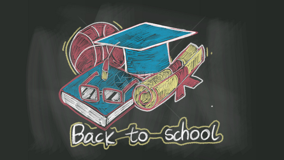 粉笔画工作桌面图片素材_免费下载_psd图片格式_vrf