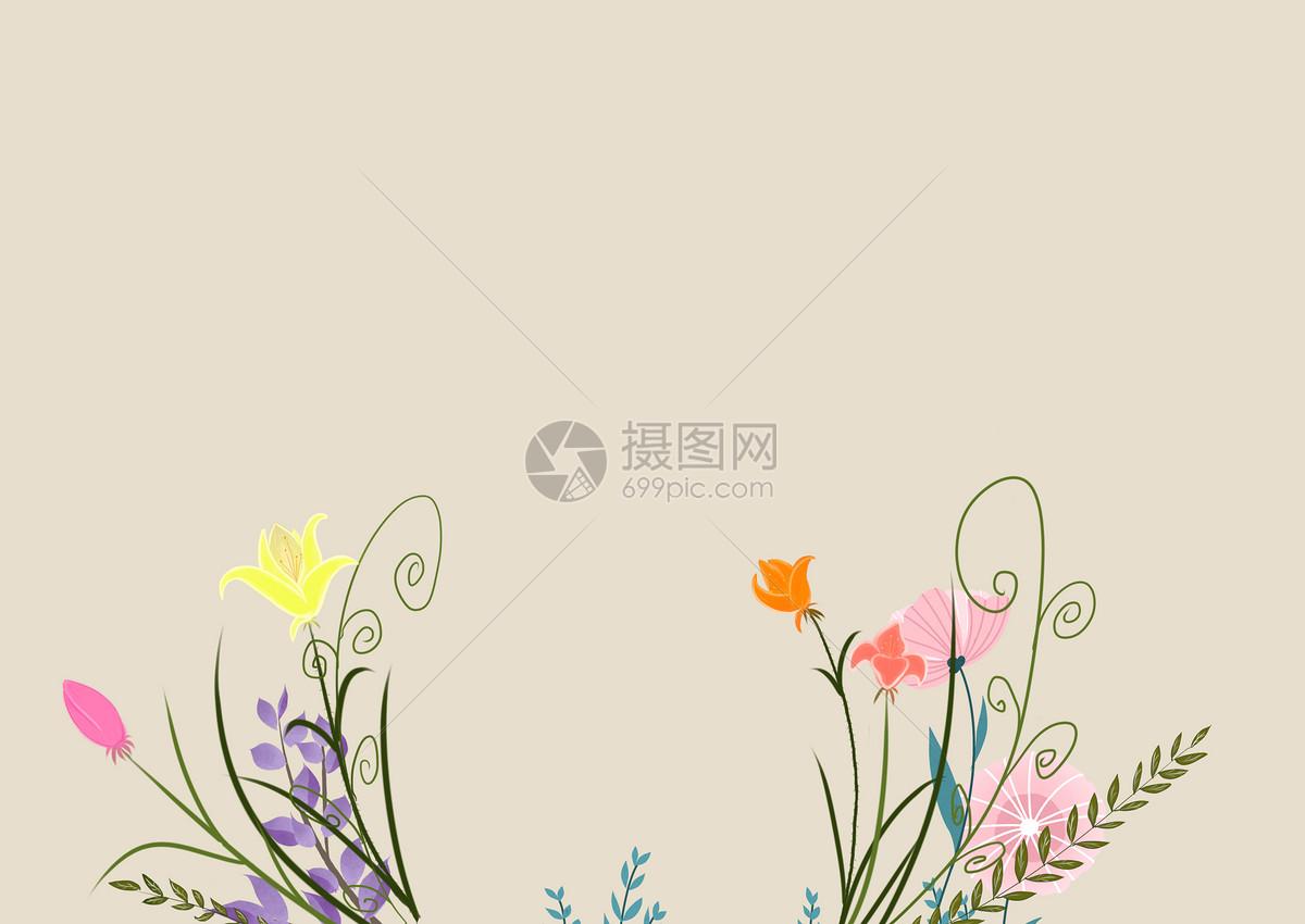 花朵矢量图