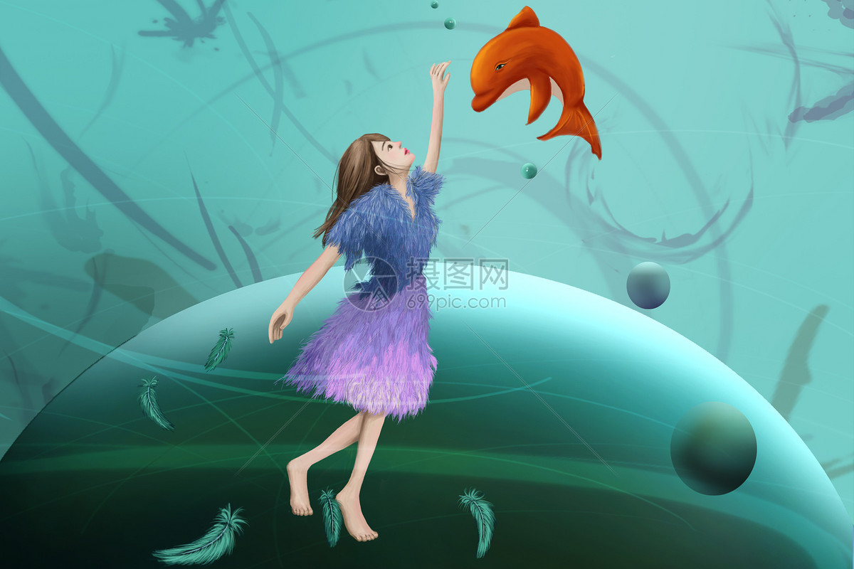 梦幻少女与鲸鱼