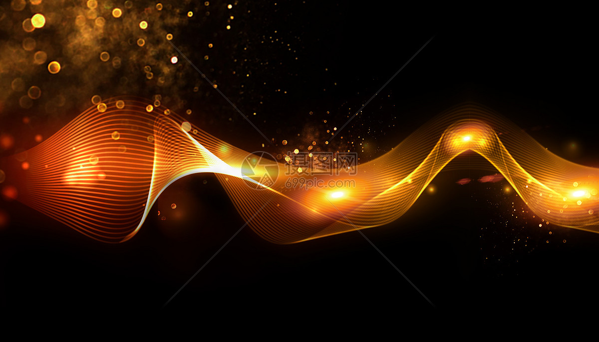 黑金科技大气背景图片