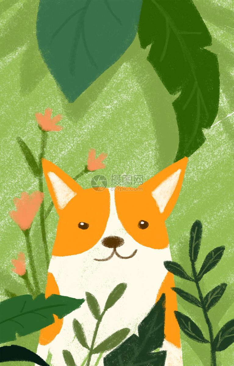 拿树叶做动物图片
