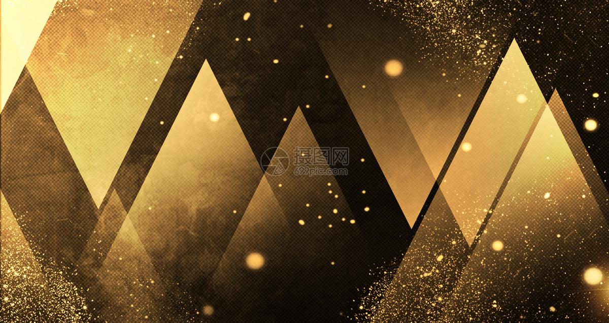 几何科技黑金背景图片素材_免费下载_psd图片格式_vrf高清图片