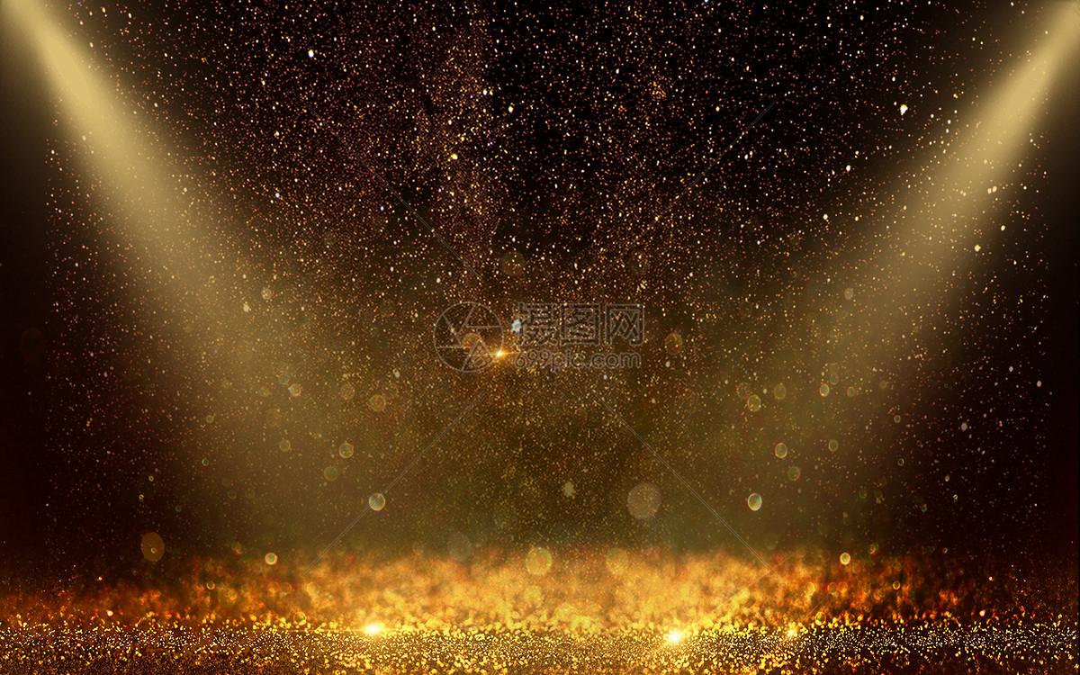 炫酷绚丽金色黑色背景图片素材_免费下载_psd图片格式