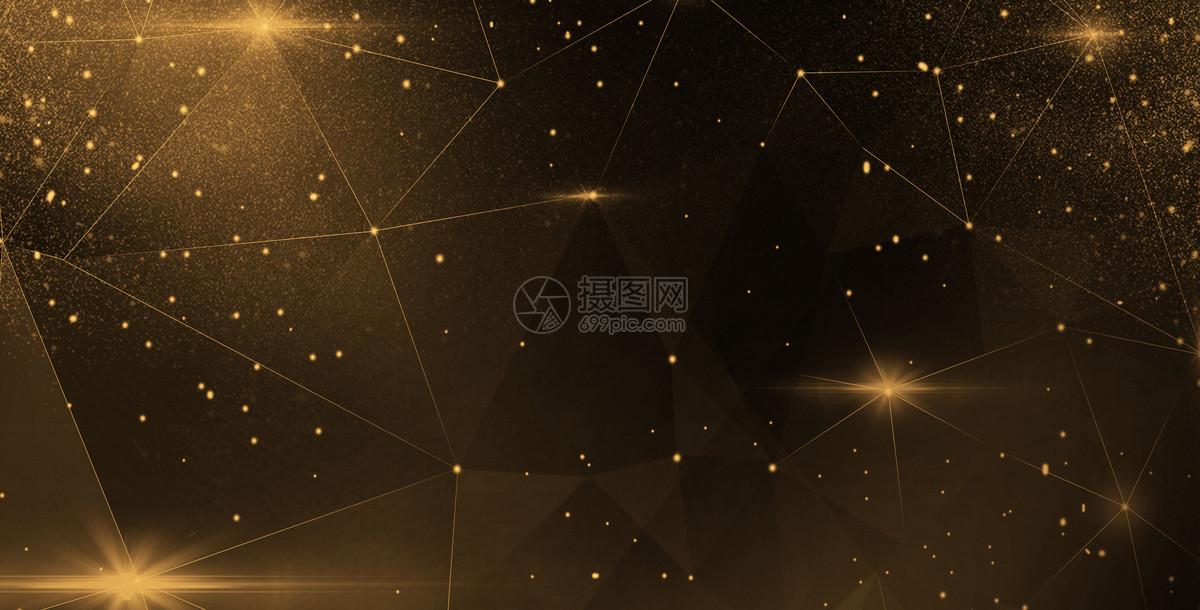 黑金星空背景图片