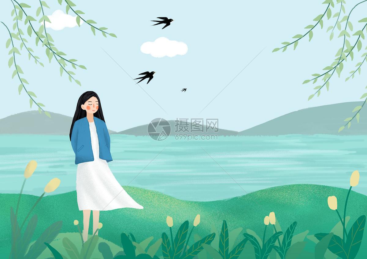 清明春游图片素材_免费下载_psd图片格式_vrf高清图片