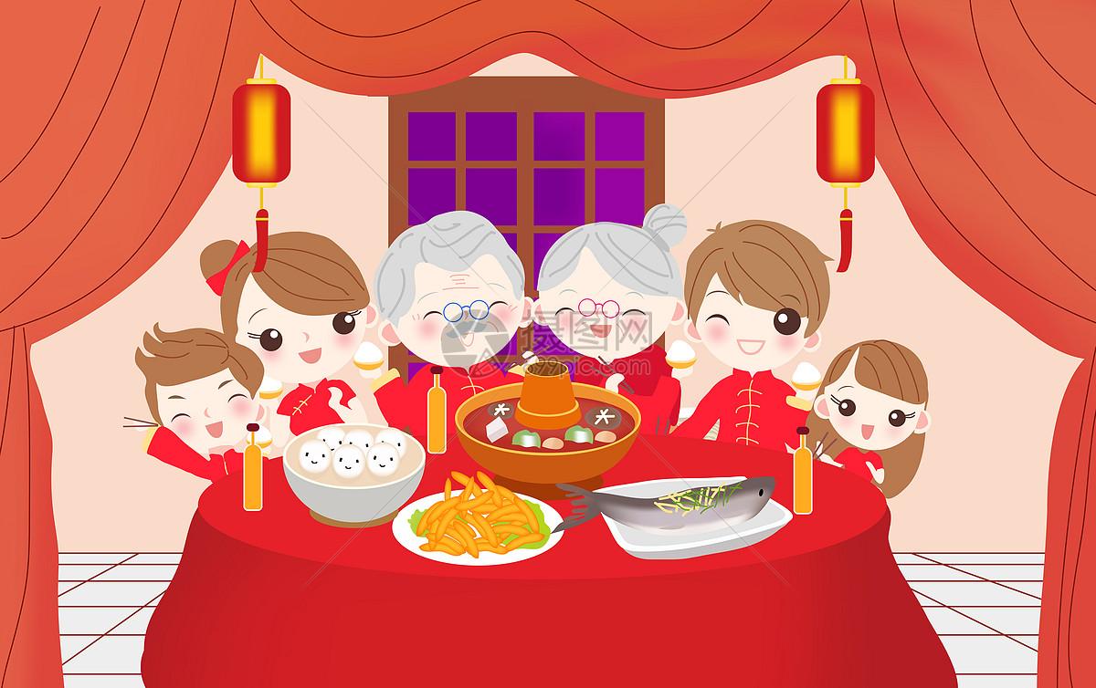 照片 节日节气 春节团圆ai