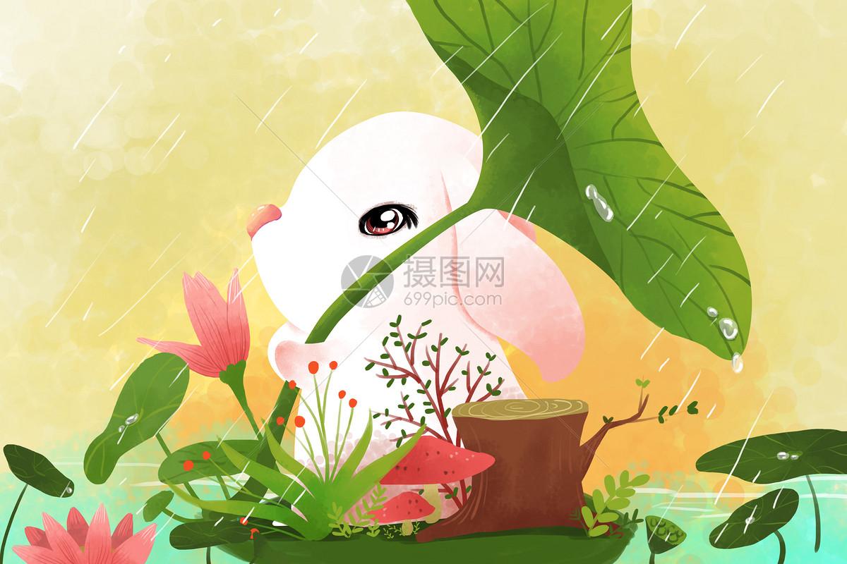 春天萌宠壁纸图片素材_免费下载_psd图片格式_vrf高清