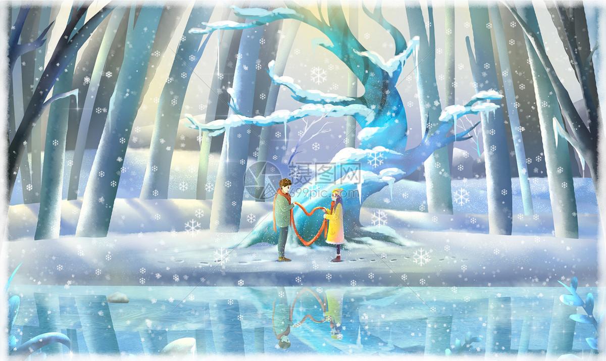 《冬之梦》图片