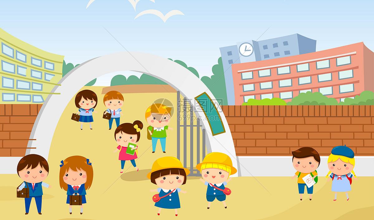 新浪微博  花瓣 举报 标签: 上学上课同学学习学校学生成绩插画放学图片