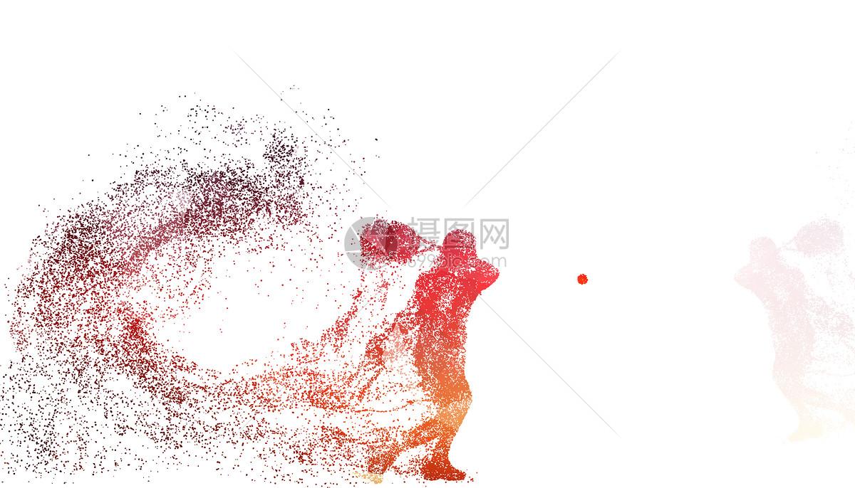 羽毛球运动员剪影图片素材_免费下载_psd图片格式_vrf