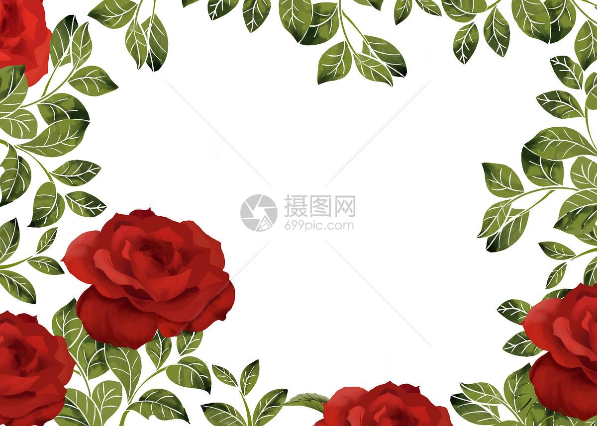 玫瑰花装饰