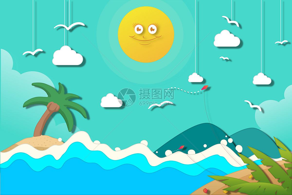 滨海风景图片