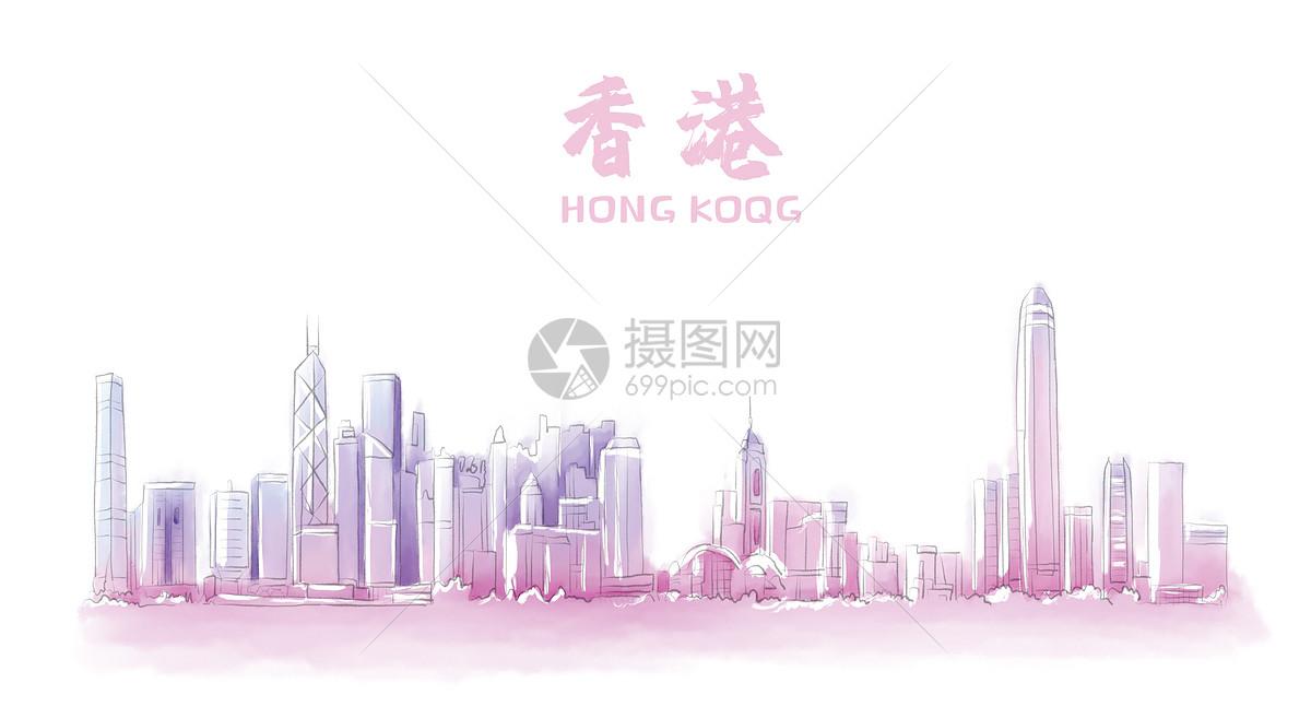 香港地标建筑