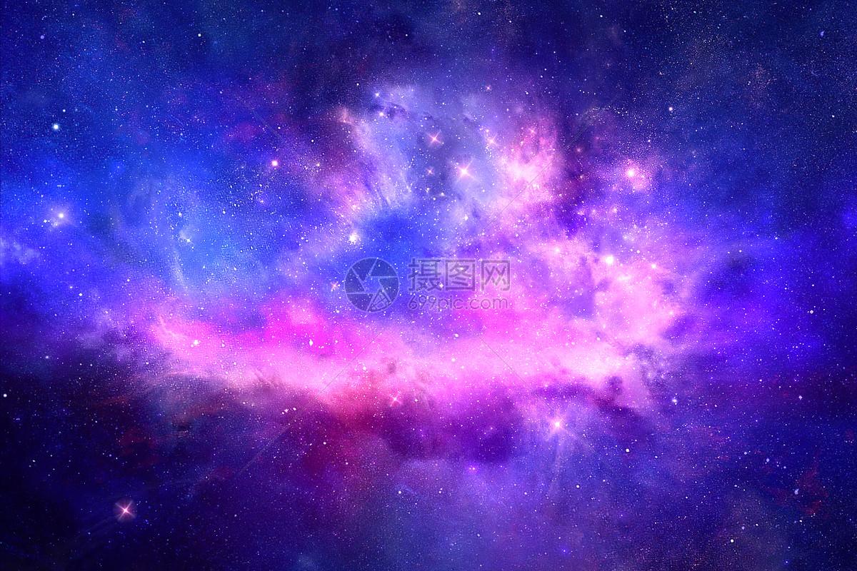 蓝紫色星空图片素材_免费下载_psd图片格式_vrf高清图片400143695_摄