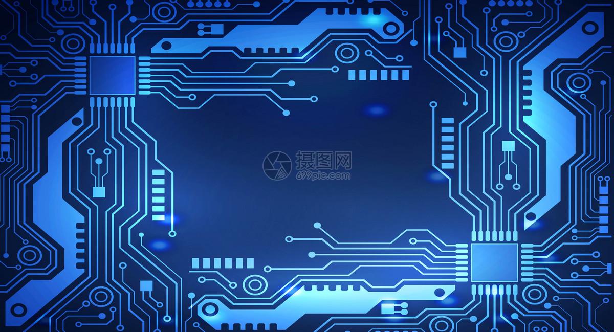 摄图网 创意合成 科学技术 科技电路背景ai  分享: qq好友 微信朋友圈
