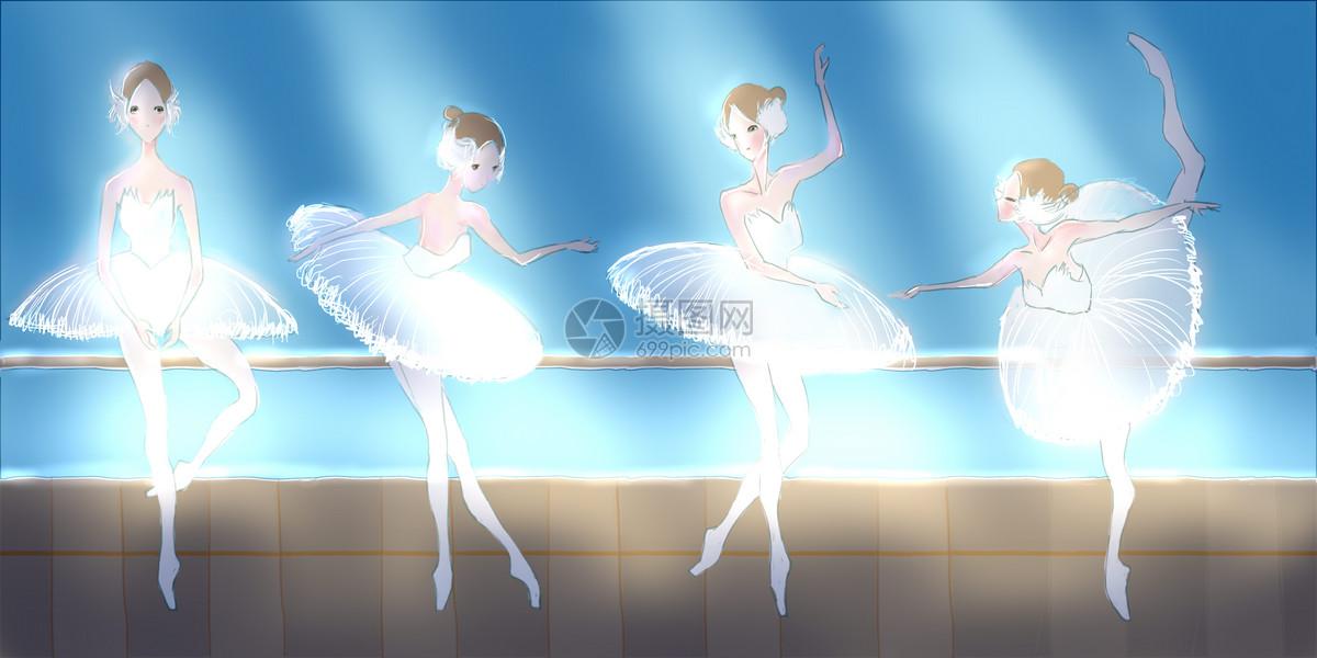 芭蕾女孩图片