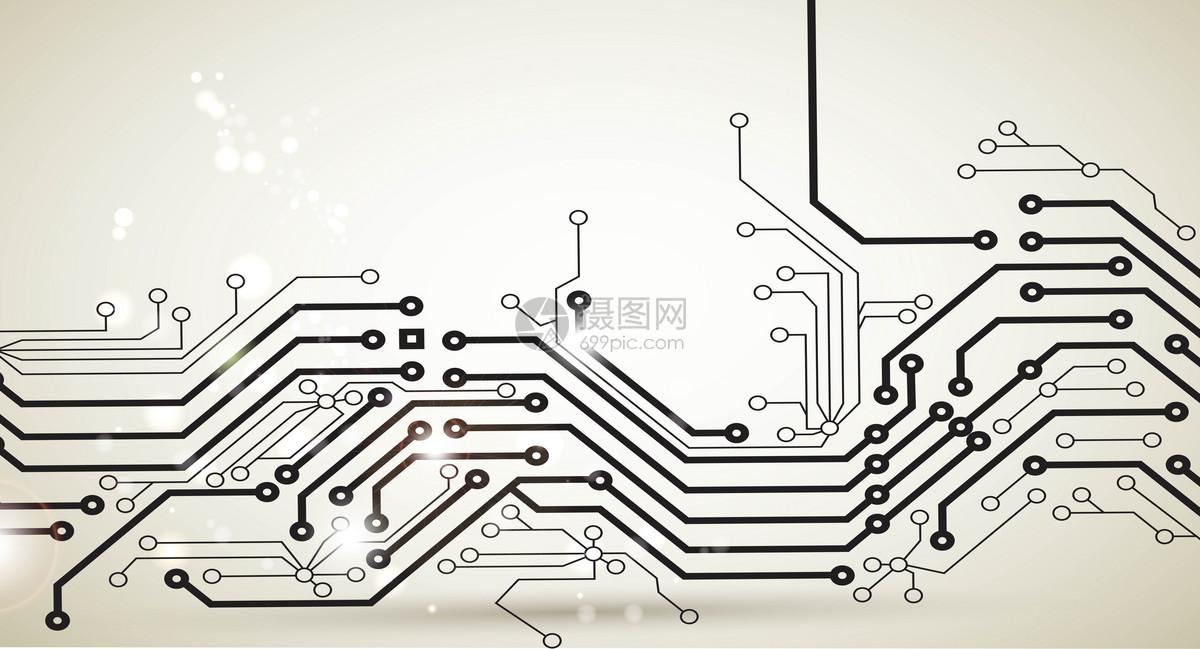 科技电路线条背景图片素材_免费下载_ai图片格式_vrf