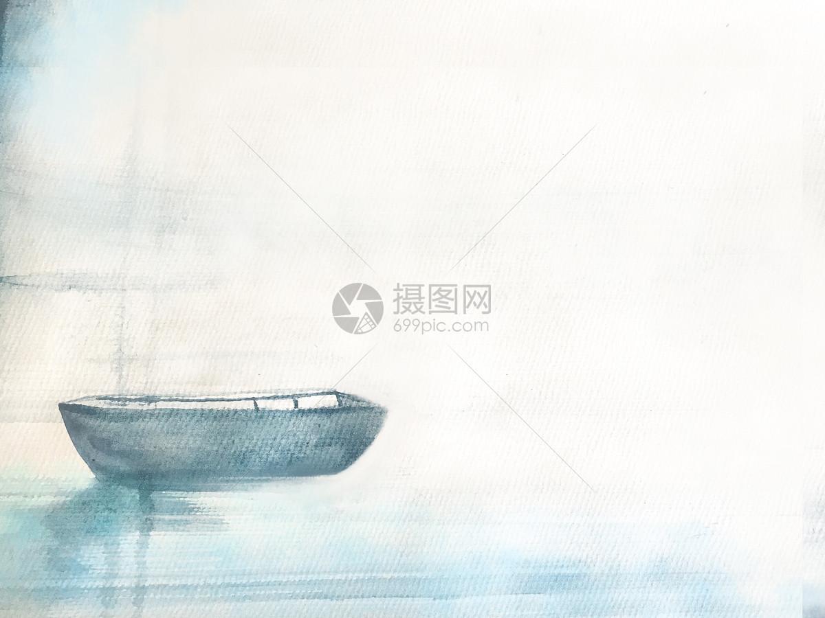 水彩手绘背景图片