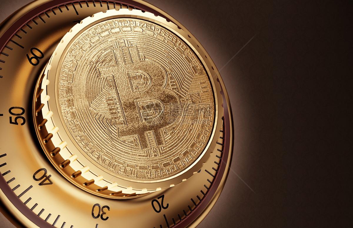 比特币金融背景图片
