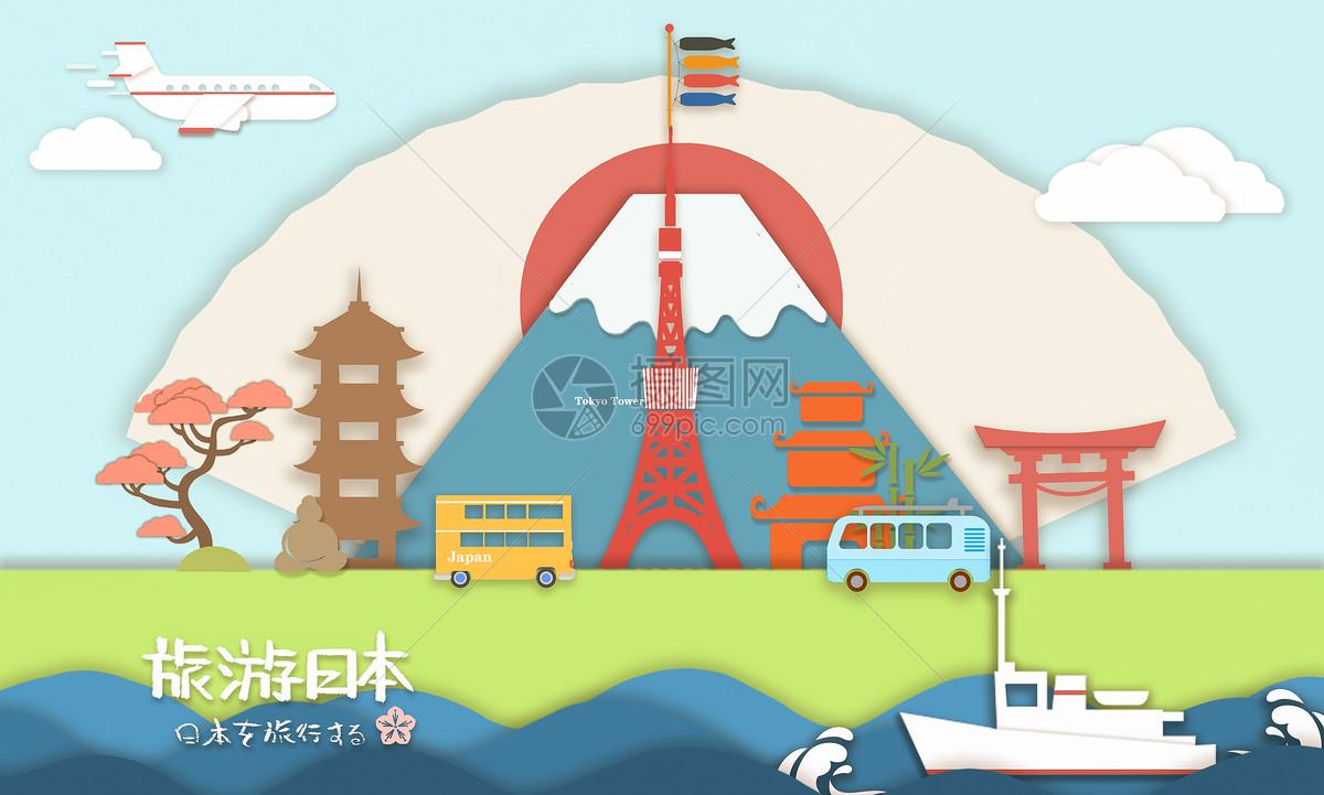 旅游日本图片